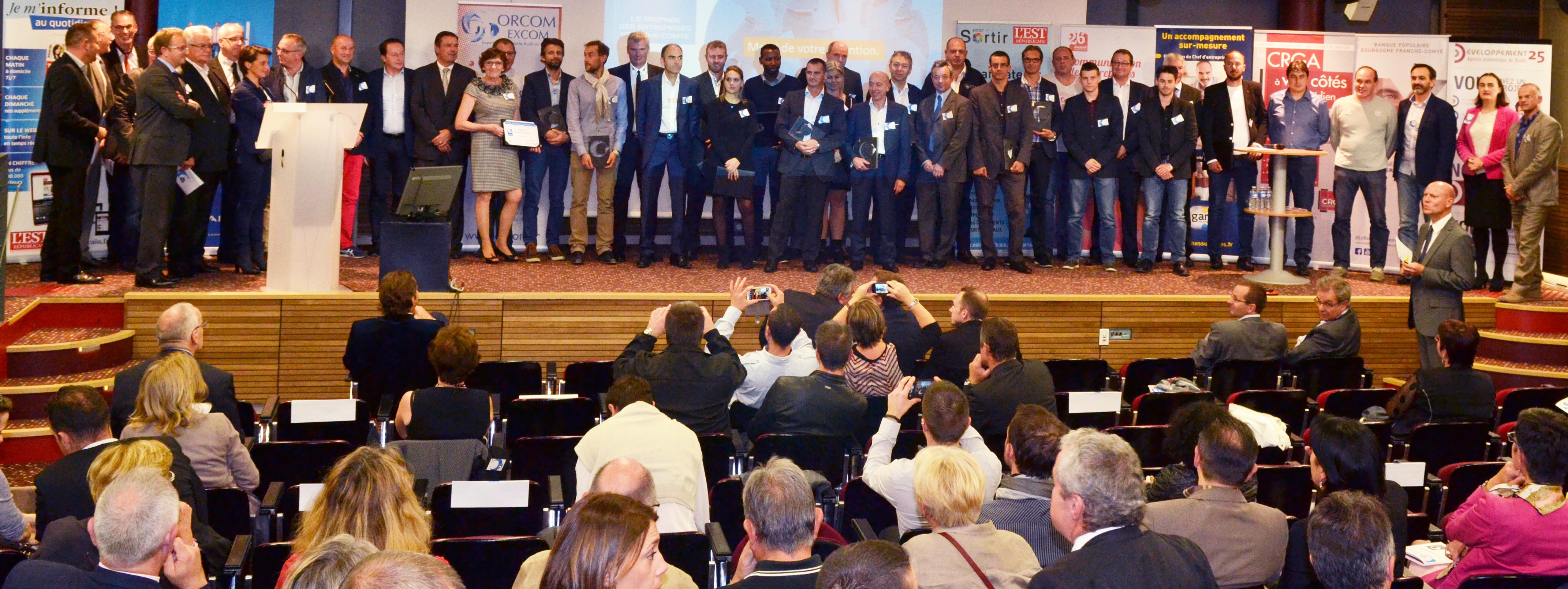 Trophées des Entreprises de Franche-Comté 2015