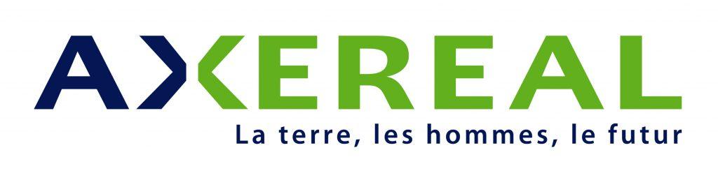 Logo de la première coopérative céréalière de France Axéréal, membre fondateur de l'Agreen Tech Valley