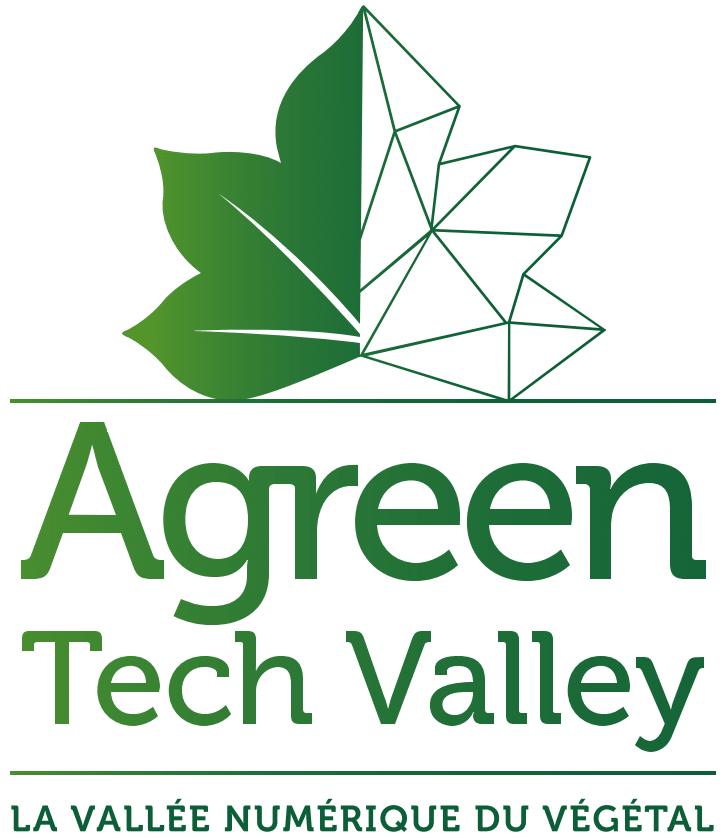 Logo de l'Agreen Tech Valley, vallée numérique du végétal