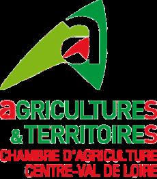 Logo de la Chambre régionale d'agriculture du Centre-Val de Loire, membre fondateur de l'Agreen Tech Valley