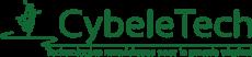 Logo de l'entreprise spécialisée dans les technologies numériques pour le monde du végétal Cybeletech, membre fondateur de l'Agreen Tech Valley