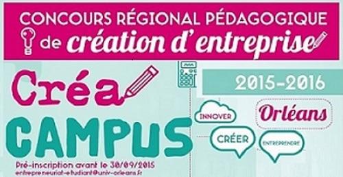 Logo Créa Campus 2015 - 2016