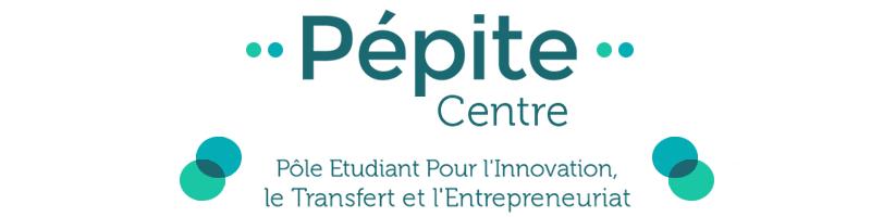 Logo du Pôle Etudiant pour l'Innovation, le Transfert et l'Entrepreneuriat Centre-Val de Loire