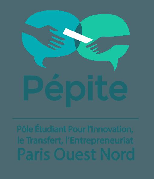 Logo du Pôle Etudiant pour l'Innovation, le Transfert et l'Entrepreneuriat Paris Ouest Nord