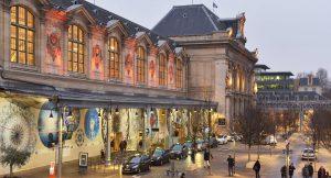 Photo de la gare de Paris-Austerlitz située dans le 13ème arrondissement de Paris