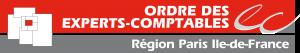 Logo de l'Ordre des Experts-Comptables de la région Paris Île-de-France