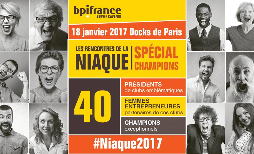 3ème édition des Rencontres de la Niaque qui se sont déroulées à Paris le 18 janvier 2017