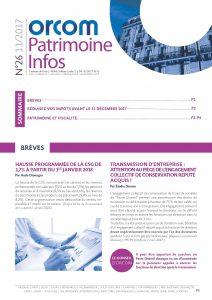 Patrimoine Infos n°26