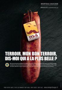 Publicité Morteau Saucisse