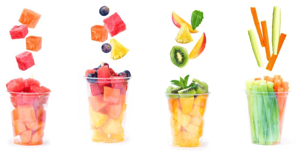Fraichement Bon Fruits Et Legumes Frais