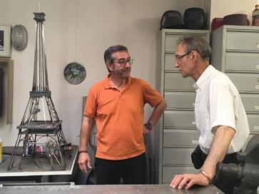 Serge AUBAILLY et François LAVRAT