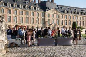 Cour du Chateau de Fontainebleau