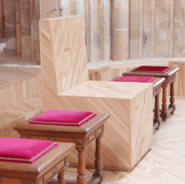 sanctuaire pour l'église Saint-Martin de Triel-sur-Seine
