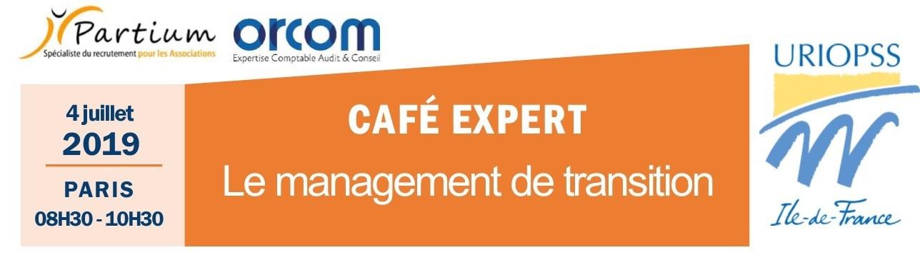 [ÉVÉNEMENT] Café expert : le management de transition