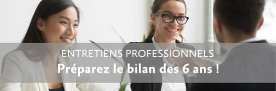 [WEBINAIRE] Entretiens professionnels : préparez le bilan des 6 ans !