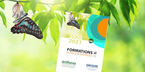 Le nouveau catalogue de formations Actiforces 2020