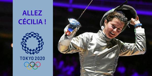 Cecilia Berder sélectionnée JO Tokyo 2021